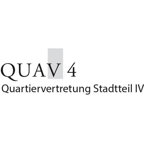 Logo QUAV4 – Quartiervertretung Stadtteil IV